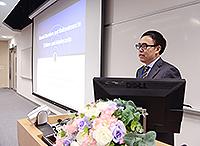 北京大學第六醫院院長陸林教授在研討會上發表主題報告