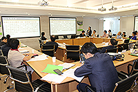 """The Research Institute for the Humanities of CUHK organized the workshop on """"Re-viewing Taiwan: Regional Developments in a Global Frame"""""""