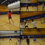 Snapshots at the Director's Cup Badminton Tournament