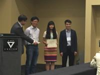 Dr. Linda Gu (second from right) received the award at the annual meeting of ACGA