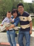 Dr. Hu Fan and her family