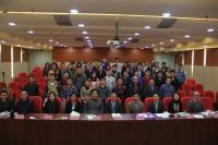 Prof. Chan Wai-yee (1st row, 5th from right), Prof. Wan Chao (1st row, 3rd from right), Prof. Jiang Xiaohua (1st row, 2nd from right) and the participants of the Symposium