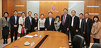 Officials from Huizhou Daya Bay Economic and Technological Development Zone meet with Prof. Fanny Cheung, Pro-Vice-Chancellor of CUHK