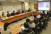 Prof. Wang Junxiu, Institute of Sociology, visits the Department of Sociology and interacts with staff and students