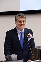 Mr. Wang Zhiwei, Deputy Director of the Office for Hong Kong, Macau and Taiwan Affairs of the State Ministry of Education, gives a speech at the Opening Ceremony of the event