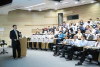 Snapshot taken during the talk presented by Prof. Gong Xiaohua