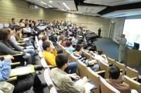 Snapshot taken during the talk presented by Prof. Jerry Shay