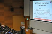 Snapshot taken during the public lecture