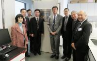 Delegation toured at the Key Laboratory and the core laboratories of SBS