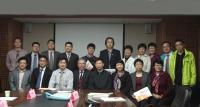 Group photo taken in the meeting during the visit of Guangdong Hospital of Traditional Chinese Medicine on 8 March 2016