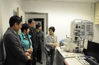 The delegation visits our Core Laboratory Facilities