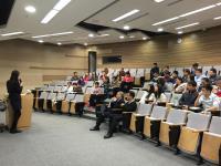 Snapshot taken during the seminar