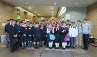 Students of Po Leung Kuk Secondary Schools visited our School on 18 March 2016