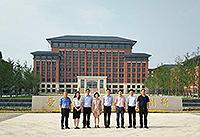 中大協理副校長王淑英教授(左四)訪問慈溪中學