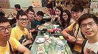 競賽以外,當然少不了體驗香港飲食文化(陳梓珊同學提供)