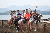 Students explore the dynamic city at weekends (Photo Credit: Mr Guo Bokai)