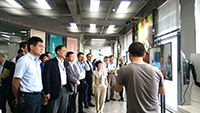 Prof. Fanny Cheung, Pro-Vice-Chancellor of CUHK, visits local enterprises with other delegates