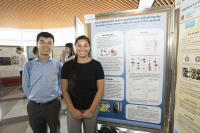 Prof. Vincent Cheung (left) and Miss Dakota Wicks