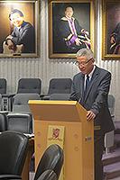 南京大學副校長潘毅教授在會議上發言