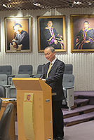 中大副校長霍泰輝教授在會議上之歡迎詞