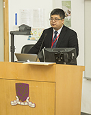 Mr. WANG Wenze, Deputy Director of Hong Kong, Macau and Taiwan Office of the Natural Science Foundation of China, delivers a speech at the opening ceremony of the symposium