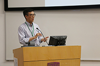 Prof. JIA Jianmin, Chairperson of the Organizing Committee of the Symposium, gives concluding remarks for the two-day symposium