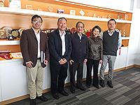 馬遠良院士與中大太空與地球信息科學研究所所長林琿教授會晤