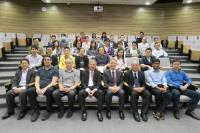 Group photo with the organizing committee and speakers