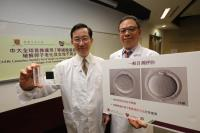 (From right) Prof. Lee Tin-lap and Prof. Lee Tin-chiu