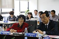 中大副校長張妙清教授及中科院副院長張杰教授共同主持會議