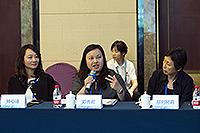 香港中文大學(中大)研究及知識轉移服務處研究事務經理鄧秀君女士、研究事務助理經理楊心詩女士代表出席論壇