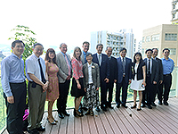 Members of IAF meet with Prof. Fok Tai-fai, Pro-Vice-Chancellor of CUHK, etc.