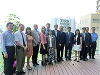 Members of IAF meet with Prof. Fok Tai-fai, Pro-Vice-Chancellor of CUHK, etc.