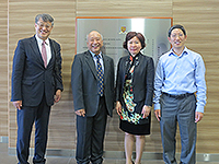 Dr. Liu Jin visits the School of Biomedical Sciences of CUHK