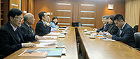 Dr. Liu Jin, Director of Hong Kong, Macau and Taiwan Office of MOE leads a delegation to visit CUHK
