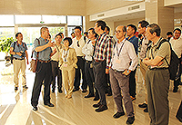 Delegates visit the Institute of Geochemistry, Chinese Academy of Sciences in Guizhou