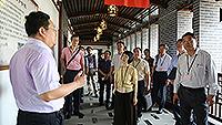 Delegates visit Chongqing Normal University