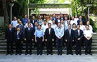 Group photo of the Hong Kong University Presidents' Delegation