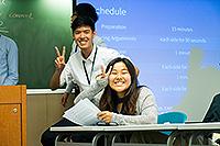 中大同學準備工作坊(國立台灣大學參加者盧俊彥同學提供)