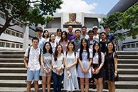 本處每年接待數以百計來自兩岸的訪問團到訪中大,當中包括不少學生訪問團