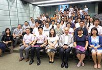 第五屆內地高校行政管理暑期學院結業儀式大合照