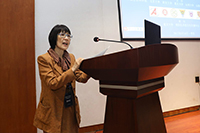 中大副校長張妙清教授在論壇上致辭
