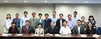 中大教職員與中國社會科學院代表團成員合照