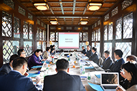 海峽兩岸暨香港地區綠色大學聯盟理事會議暨「互聯網+」與綠色發展研討會在北京召開