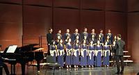中大和聲書院合唱團於合唱節演唱多首經典歌曲