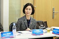 中大協理副校長王淑英教授在活動上發言