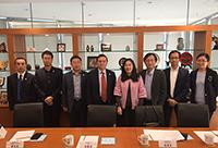 Prof. Li Jianqing, Vice-President of Nanjing Medical University leads a delegation to visit CUHK