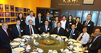 Delegation from CAS enjoys luncheon with Prof. Benjamin Wah, Provost of CUHK and academic members from the University