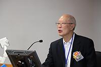 譚述森院士在講座中分享對國內衛星導航技術的見解