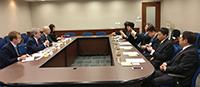 中大法律學院代表與中國政法大學訪問團成員會晤